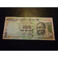 100 рупий Индия 6NA  L 354073