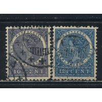 NL Колонии Нидерландская Индия (Индонезия) 1912 Вильгельма Стандарт #103-4