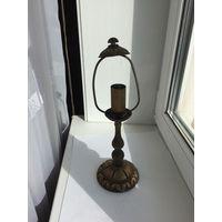 Настольная лампа без абажура и проводки 2010 г