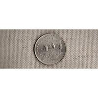 США 25 центов 2002/Индиана(Ab)