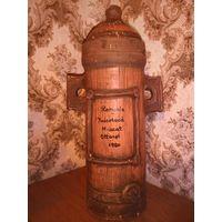 Старая бутылка из под Румынского вина