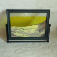 Картина антистресс из 90-х с жидким песком ностальгия