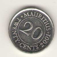 20 центов 2001 г.