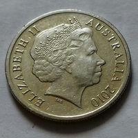 5 центов, Австралия 2010 г.