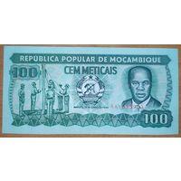 100 метикал 1989 года - Мозамбик - UNC