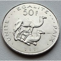 Джибути. 50 франков 2007 год КМ#25