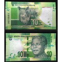 Банкноты мира. Южная Африка, 10 рандов