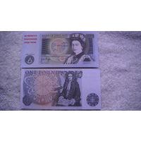 Англия 1 фунт. распродажа