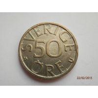 50 эре Швеция 1978 год