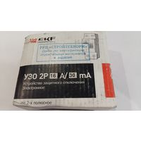УЗО 16А/30мА (электромеханическое) EKF 2п