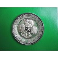 США. Franklin Mint 1979. 925пр. 11гр.  Серебряное блюдце P .      S.6