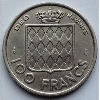 Монако 100 франков. 1956