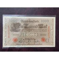 Германия 1000 марок 1910 UNC!!!