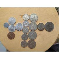 Набор монет. Южный Йемен. Народная Демократическая Республика (1965 - 1990)