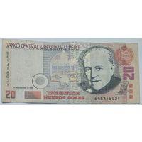 Перу 20 Новых солей 2006, VF, 291