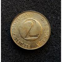 Словения, 2 толара 1998