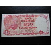 ИНДОНЕЗИЯ 100 РУПИЙ 1984 ГОД    UNC