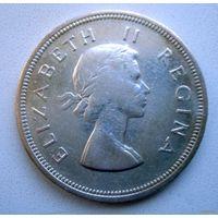 ЮАР. 2,5 шиллинга 1958 г.