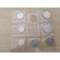 Сан-Марино официальный набор 1975 года (500 лир - серебро),