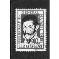 Уругвай. Мануэль Орибо - второй президент Восточной республики Уругвая