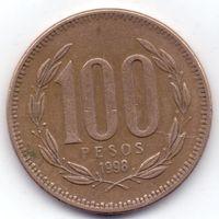 Чили,  100 песо 1998 года, S.