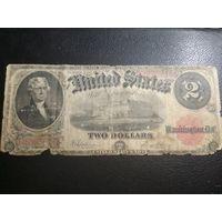 2 доллар 1917