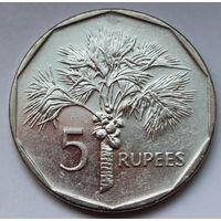 Сейшелы, 5 рупий 2010 г. (магнитная)