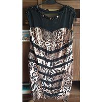 Вечернее платье для крупной барышни, р- 54-56