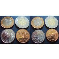 Мавритания - набор из 4 монет 5, 10, 20, 50 угий