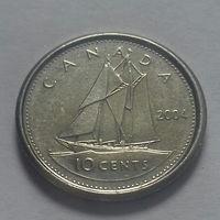 10 центов, Канада 2004 P, AU