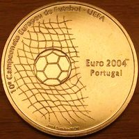 1000 эскудо 2001г. Чемпионат Европы по футболу.