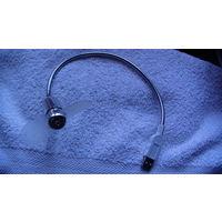 USB лампа светодиодная, синего цвета с проппелером. распродажа