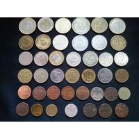 Лот иностранных монет 41 шт!