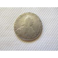 1 рубль 1776 г. СПБ ТI ЯЧ