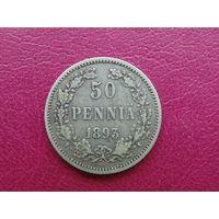 50 пенни 1893 г. L Серебро.