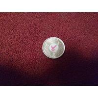Канада 25 центов 2006 г. Борьба с раком молочной железы