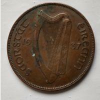 Ирландия 1 пенни, 1937  2-3-11