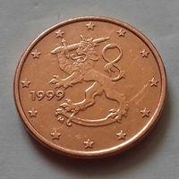 1 евроцент, Финляндия 1999 г.