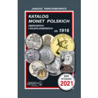 Katalog Monet Polskich Parchimowicz 2021. Каталог монет Польши Пархимович 2021