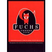Рекламная открытка Швейцария Лиса