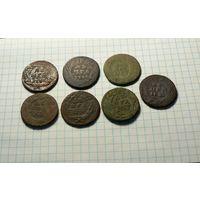 Деньга 1731 - 7 шт.