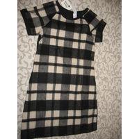 Платье в клетку рост 170  от C&A, можно в школу