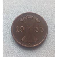 1 пфенниг 1933 год мд А