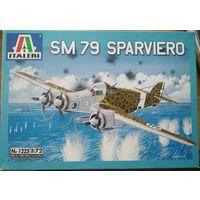 Итальянский бомбардировщик SM-79 м. 1:72
