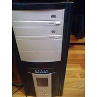Компьютер и комплектующие, рабочий, полный комплект