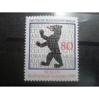 Берлин 1988 герб Берлина Михель-2,5 евро