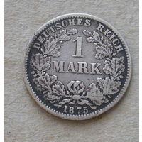 Германия. 1 марка 1875 года ( Е ).