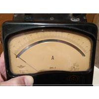 Амперметр ЛМ-1  предел измерения 1,5 А  1956 год