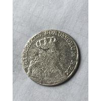 6 грошей 1756 (в)