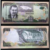 Банкноты мира. Ямайка, 100 долларов
